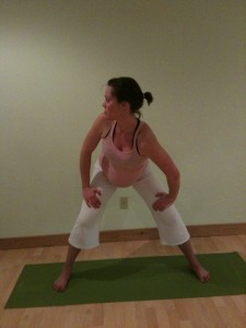Standing Spinal Twist