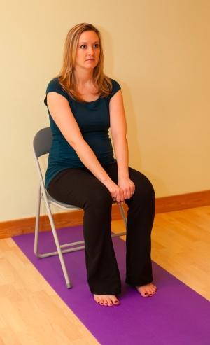 Inner Thigh Strengthening Pose