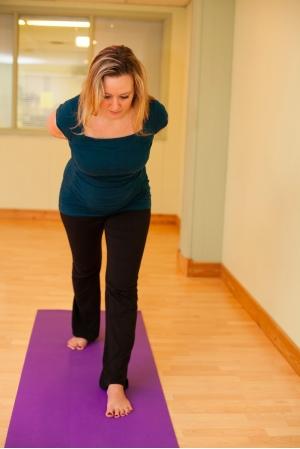 parsvottonasana front view yoga pubis symphysis