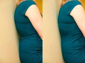 pelvic tilt prenatal yoga