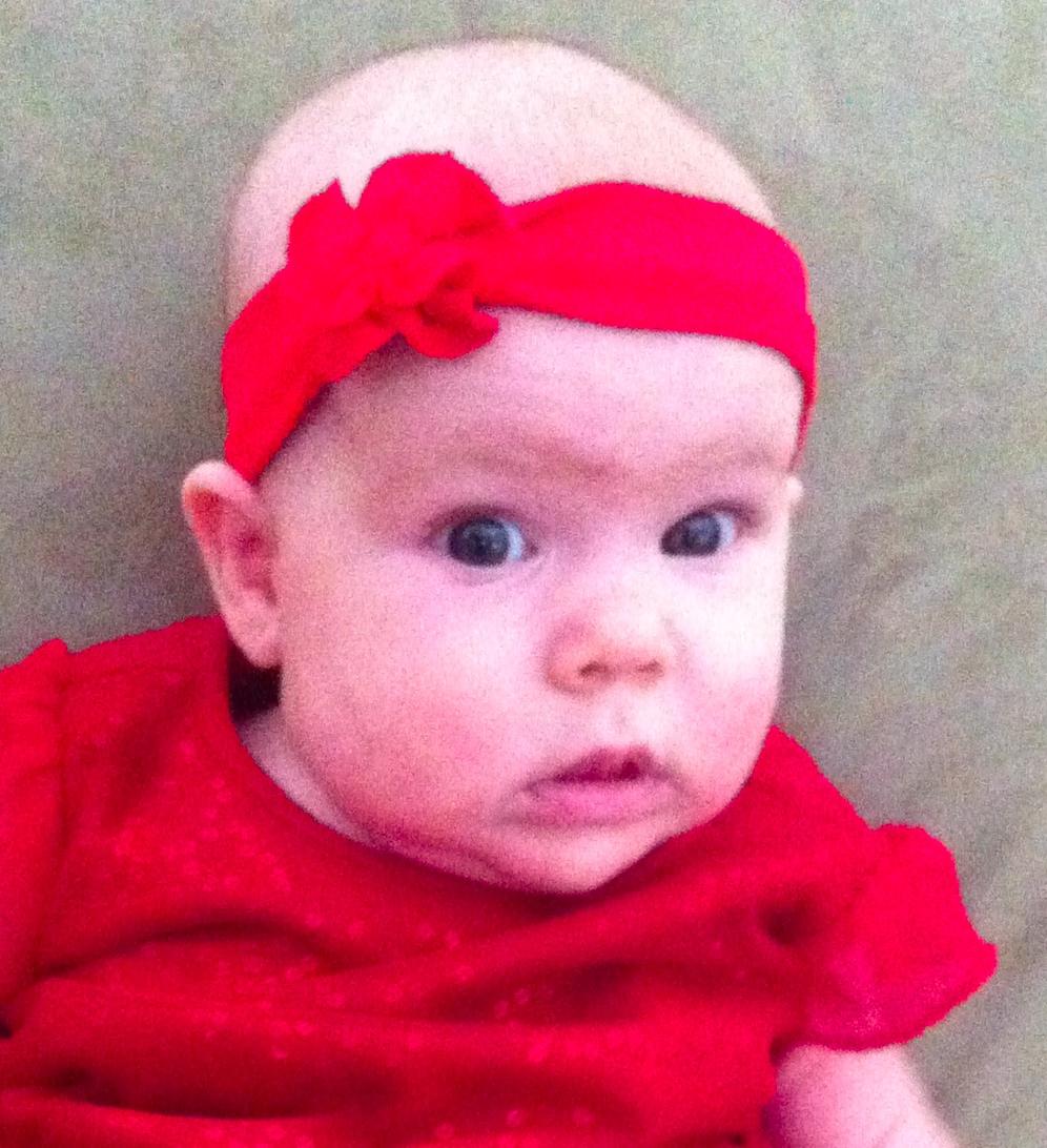 rachel baby photo